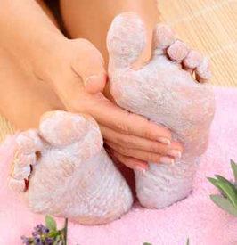 legs and lavender cream - foot care