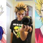 Прически для аниме персонажей