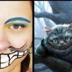 Костюм чеширского кота на хэллоуин