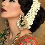 Прически в индийском стиле