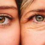 Упругая кожа вокруг глаз