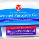 Бензоил пероксид 10 процентный
