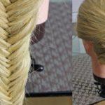 Прически на длинные волосы в школу поэтапно