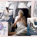 Прозрачная косметичка для самолета