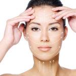 Как наносится очищающее средство на шею