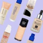 Недорогие тональные крема для сухой кожи