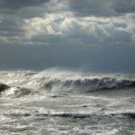 Море в пасмурную погоду