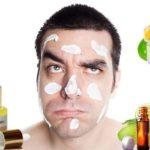 Мужская маска для лица от морщин