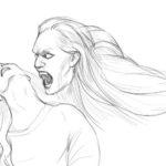 Как легко нарисовать вампира