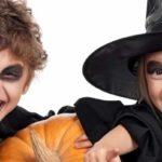Простой грим на хэллоуин для детей