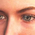 Упражнения для увеличения глаз до и после