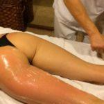 Антицеллюлитный массаж ног и ягодиц видео