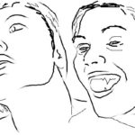 Как нарисовать вампира на хэллоуин карандашом поэтапно