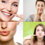 Упражнения для морщин вокруг рта