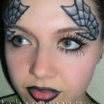Фейс арт на хэллоуин для девушки