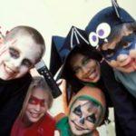 Как можно накраситься на хэллоуин детям