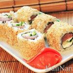 Как делать суши дома пошагово
