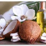 Косметическое масло кокоса для лица