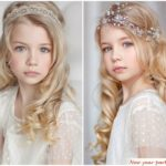 Новогодние прически для девочек на короткие волосы