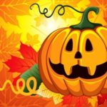 Рисунки на хэллоуин для детей в школу