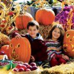 Фотосессия на хэллоуин для детей