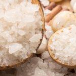 Морская соль от растяжек
