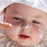 Уход за кожей лица детей